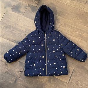 Navy and Gold star jacket